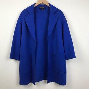 St. John Milano Knit Open Blazer Jacket